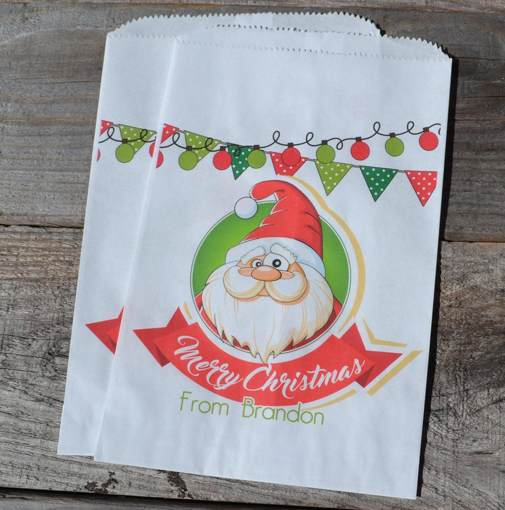 Santa Bag Personalized Goodie Bags