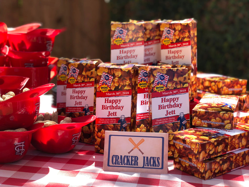 Cracker Jacks for kids party