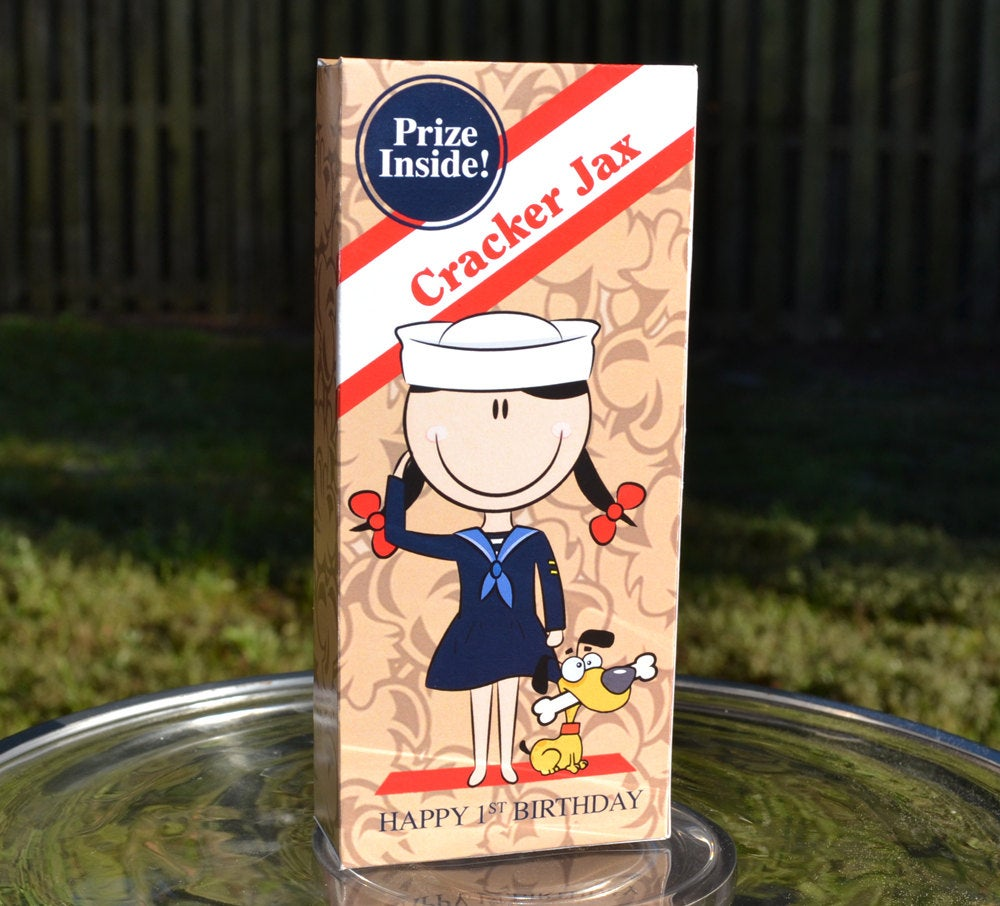 Sailor Girl Cracker Jack Girl Boxes
