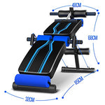 Sit-up board Adjustable Bench | Folding Abdominal Training Fitness Inclined Bench - Sports Butler