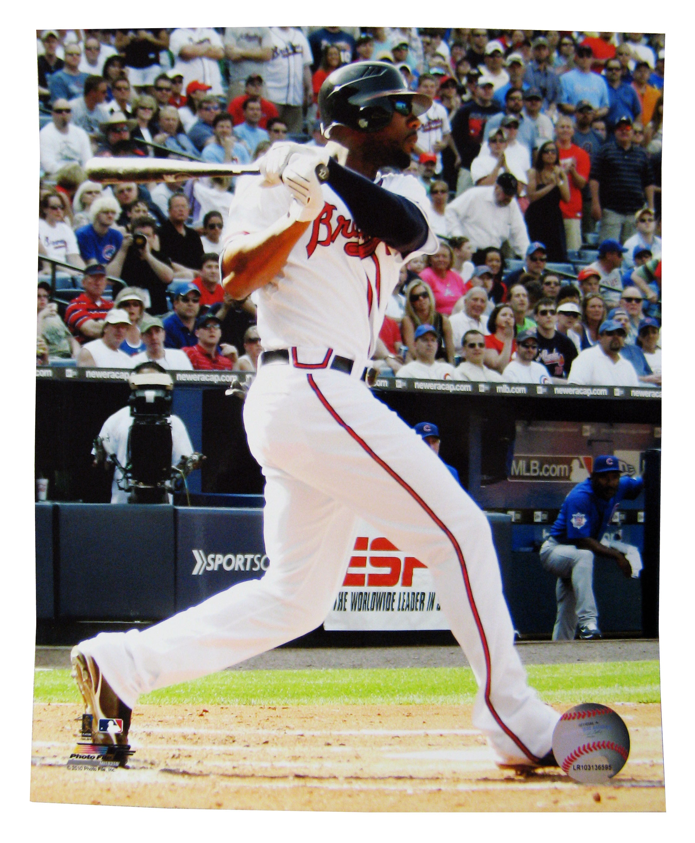 Unsigned Jayson Heyward 8x10 Unframed Photo - Sports Butler