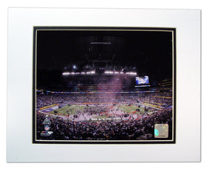 Superbowl 46 Champs 8x10 Matted - Sports Butler