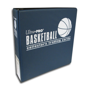Ultra Pro 3-Inch Basketballl Card Album, Blue - Sports Butler