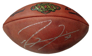 Ray Lewis Autographed Official Superbowl 35 NFL Football. - Sports Butler