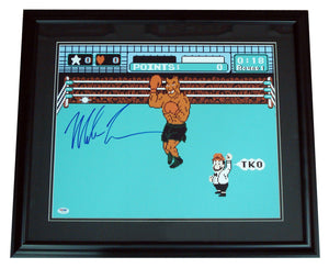 Mike Tyson Signed 16x20 framed Photo - Sports Butler