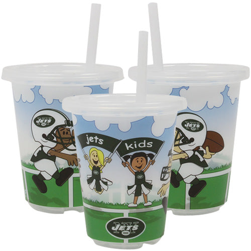NFL New York Jets Baby Fanatic Sip N Go Cups (3-Pack) - Sports Butler