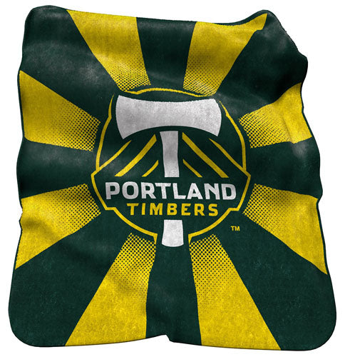 Northwest Company MLS Portland Timbers 50x60 Plush Throw - Sports Butler