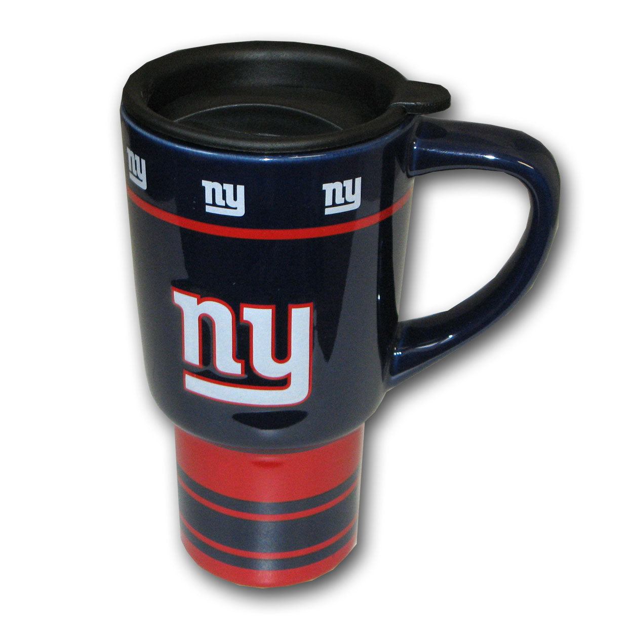 NFL 15oz Sculpted Travel Mug - New York Giants - Sports Butler