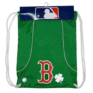 MLB Boston Axis Backsack Green - Sports Butler
