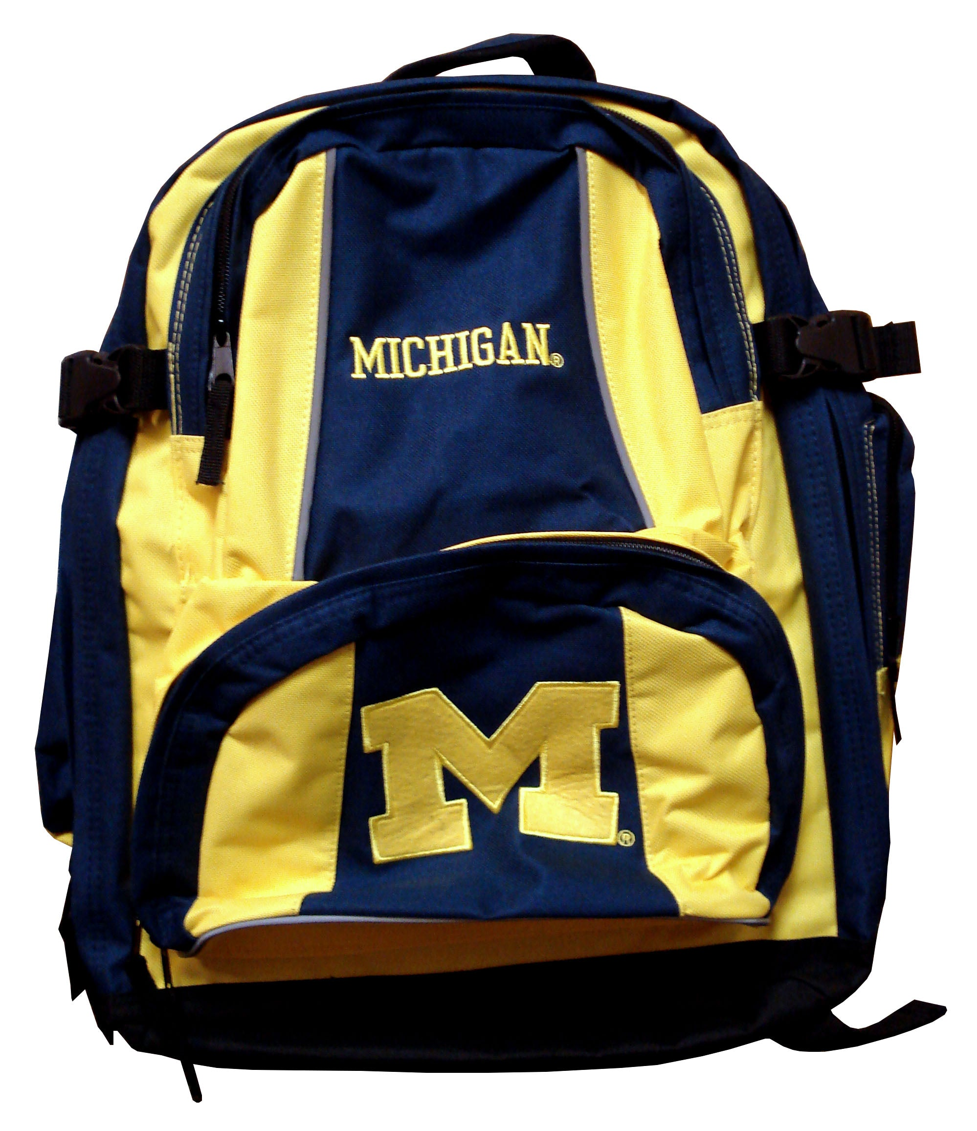 Concept 1 NCAA Michigan Wolverines Trooper Backpack - Navy - Sports Butler