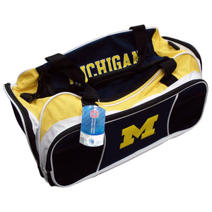 Tuck Duffle bag Michigan Wolverines Navy - Sports Butler