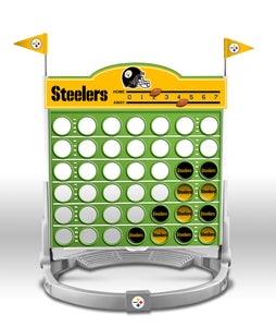 Connect Four NFL Game - Pittsburgh Steelers - Sports Butler
