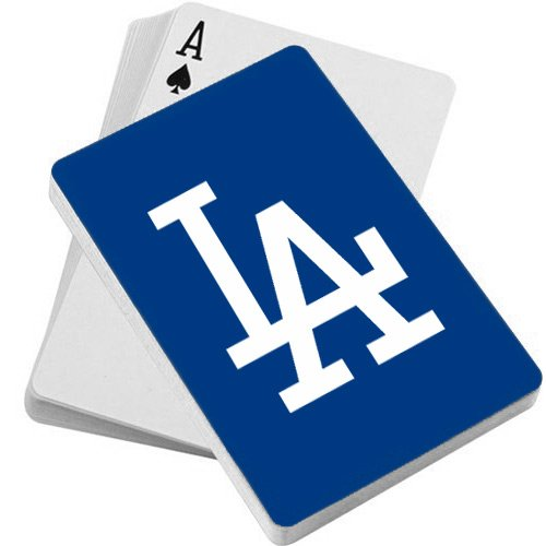 MLB LA Dodgers Deck of Playing Cards - Sports Butler