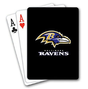 NFL Baltimore Ravens Playing Cards - Sports Butler