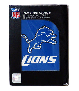 NFL Detroit Lions Playing Cards - Sports Butler