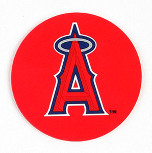 Los Angeles Angels of Anaheim Coasters Set of 4 - Sports Butler