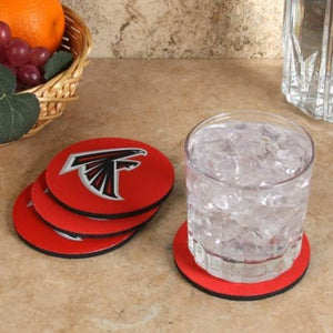 Coasters Set of 4 - Atlanta Falcons - Sports Butler
