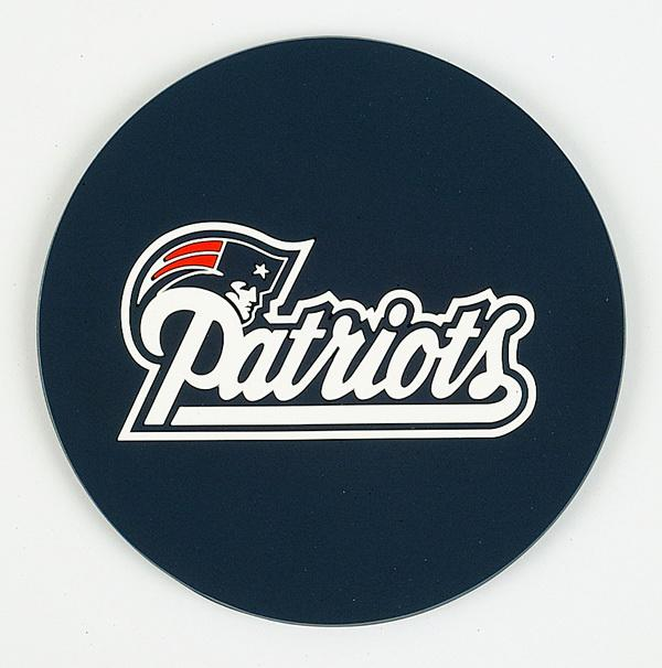 Coasters Set of 4 - New England Patriots - Sports Butler