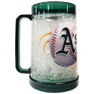 Duckhouse MLB Oakland Athletics 16Oz Crystal Freezer Mug - Sports Butler