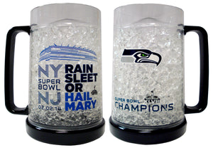 Duckhouse NFL Super Bowl 48 Seattle Seahawks Crystal Freezer Mug - Sports Butler