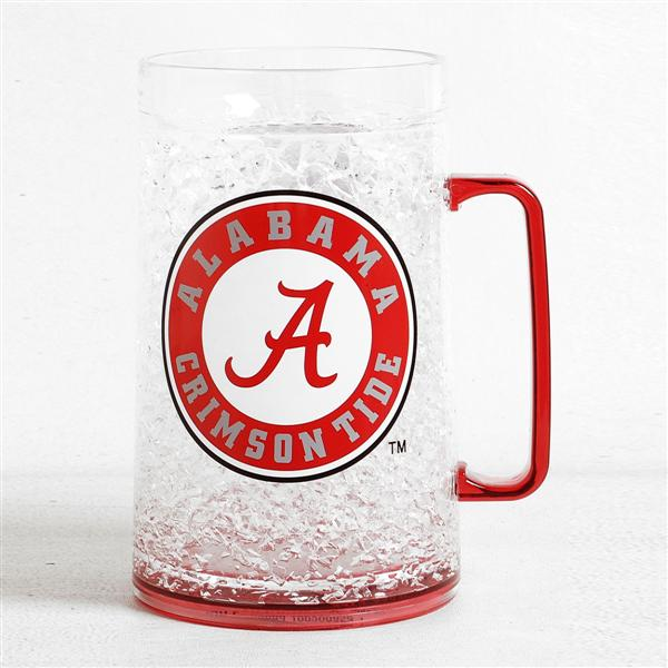 Duckhouse NCAA Alabama Crimson Tide 36-Ounce Crystal Freezer Monster Mug - Sports Butler