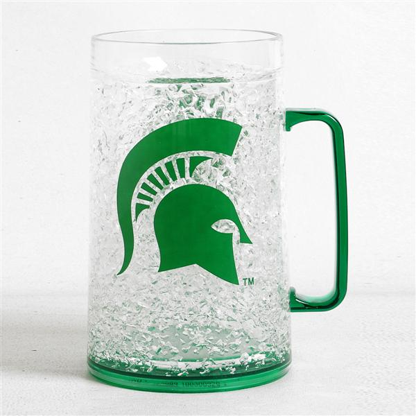 Duckhouse NCAA Michigan State Spartans 36-Ounce Crystal Freezer Monster Mug - Sports Butler