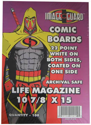 Image Guard Comic Backing Boards Life Magazine Size - Sports Butler