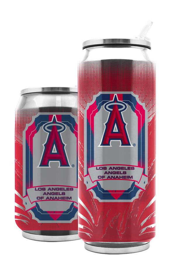 Duckhouse MLB Anaheim Angels Stainless Steel 16.9-Ounce Thermocan - Sports Butler