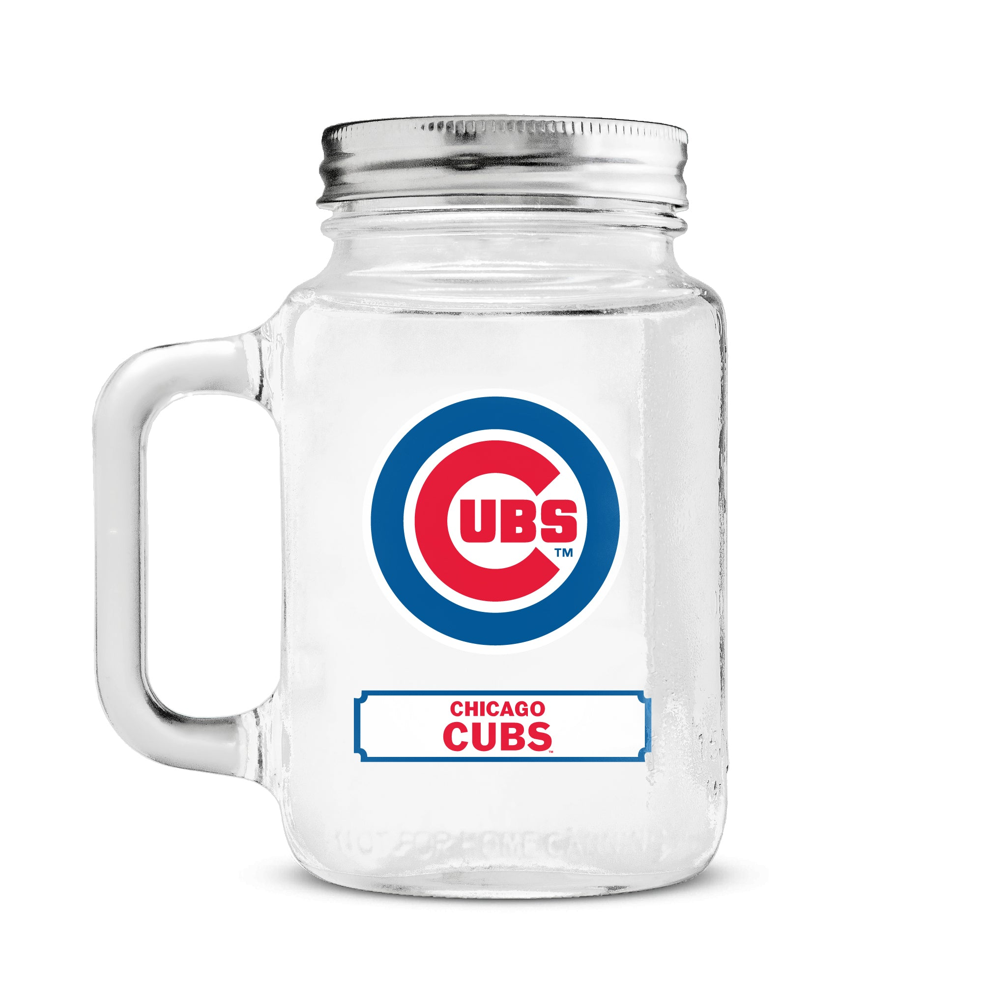 Duckhouse 16 Ounce Mason Jar - Chicago Cubs - Sports Butler