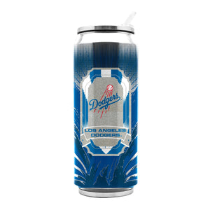 Duckhouse MLB Los Angeles Dodgers Stainless Steel 16.9-Ounce Thermocan - Sports Butler