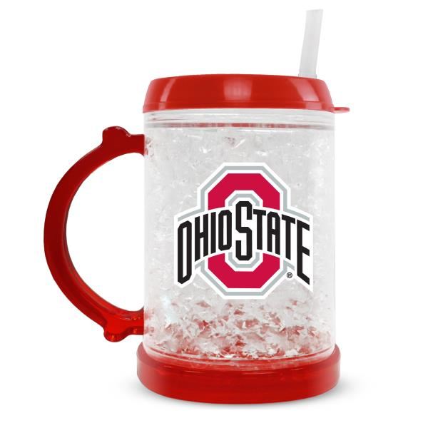 Duckhouse NCAA Ohio State University 8-Ounce Junior Crystal Freezer Mug - Sports Butler