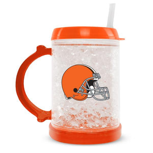 Duckhouse NFL Cleveland Browns 8-Ounce Junior Crystal Freezer Mug - Sports Butler