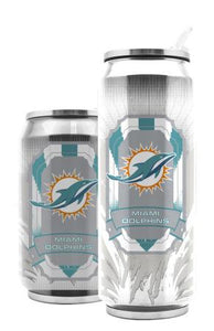 Duckhouse NFL Miami Dolphins 16.9-Ounce Thermocan - Sports Butler