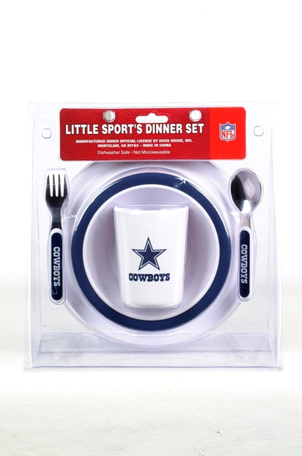NFL Dallas Cowboys Childrens Dinner Set - Sports Butler