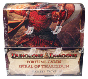 D&D Fortune Cards: Spiral of Tharizdun Boosters (24 Packs) - Sports Butler