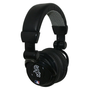 Ihip MLB Pro Dj Headphones With Microphone - Chicago White Sox - Sports Butler