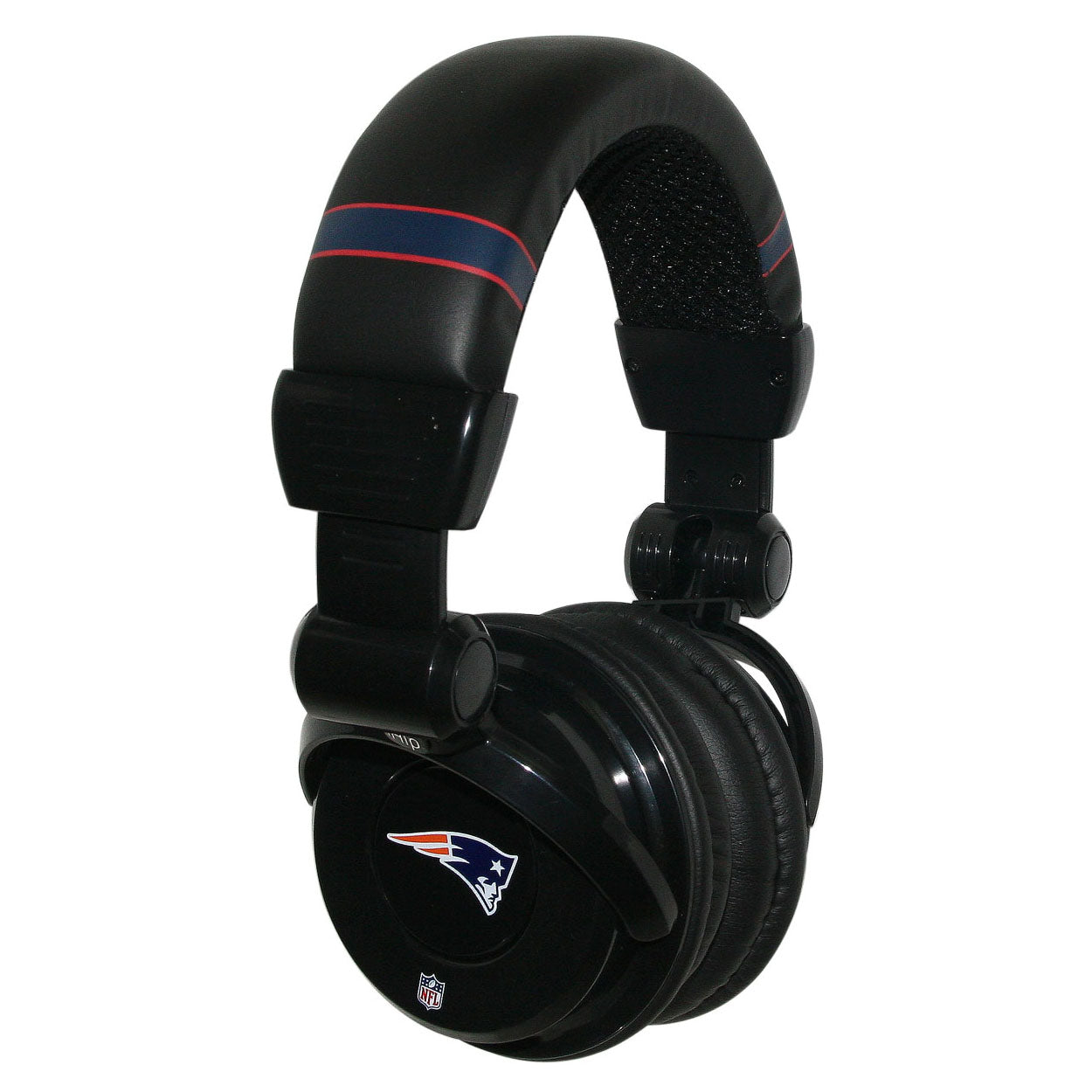 Ihip Pro Dj Headphones With Microphone - New England Patriots - Sports Butler