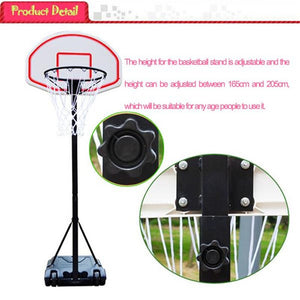 Teenager Indoor Outdoor Basketball Stand Maximum Applicable Ball Model 7# - Sports Butler