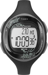 Timex Womens Silicone Health Tracker Midsize Sports Watch - Sports Butler