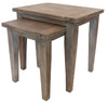 Reclaimed Nesting Side Tables