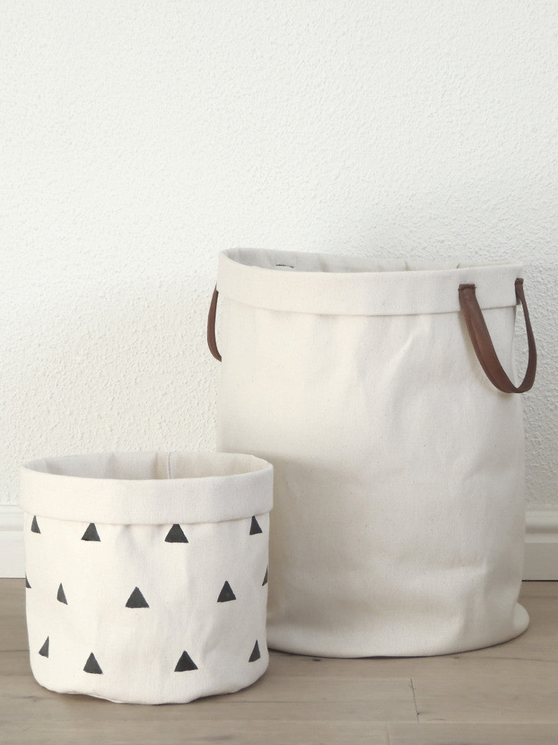 Canvas Bucket - Small plain
