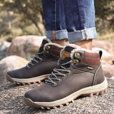 Warm Hiking Shoes Winter Tactical Boots