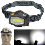 Lighting Head Lamp 12 COB LED Headlight