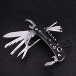 Multifunctional Army Military Folding Knife Survival