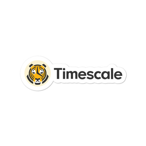 Timescale Tiger Sticker