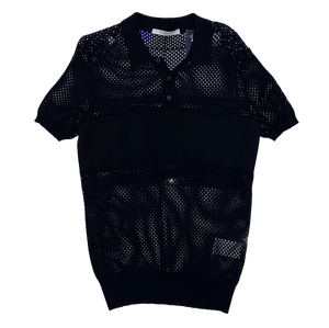 Givenchy Mesh Collard Shirt