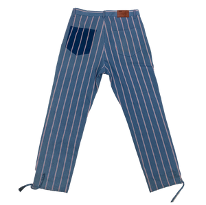 Kid Super Pants With White/Red Pin Stripe