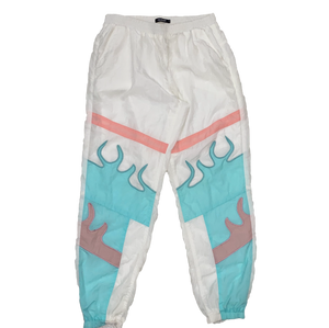 Pink Dolphin Flame Track Pants
