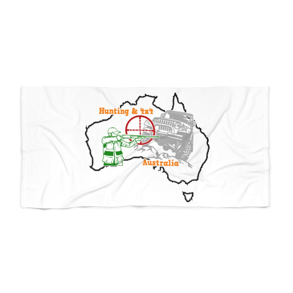 Hunting & 4x4 Australia Beach Towel 2