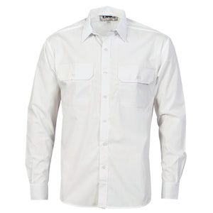 Polyester Cotton Work Shirt - Long Sleeve - 3212